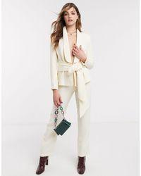 NA-KD - Pantalon large à pinces - (ensemble) - Lyst