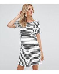 GeBe Maternity - Nursing Striped Shift Dress With Star Emboridery - Lyst