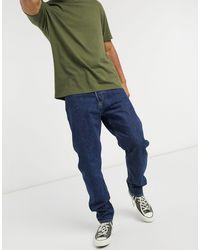 Weekday Barrel - Jeans classici blu medio