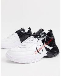 Calvin Klein Черно-белые Кроссовки Maxon-многоцветный - Черный