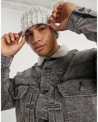 Levi's Серая Джинсовая Куртка С Воротником Из Искусственного Меха Modern Type 2-серый