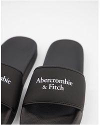 Abercrombie & Fitch Sliders - Black
