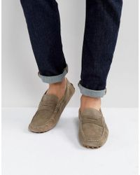 Tommy Hilfiger - Suede Loafers - Lyst