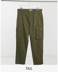 Another Influence Tall Co-ord Utility Cargo Trouser - Green