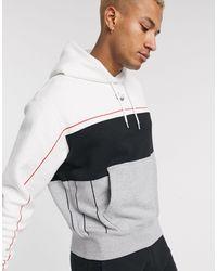 adidas Originals Rivalry - Hoodie - Gris - Blanc