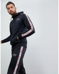 Aces Couture - Muscle Hoodie With Taping - Lyst
