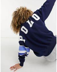 Polo Ralph Lauren Collegiate Logo Sweatshirt - Blue