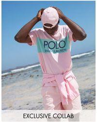 Polo Ralph Lauren X Asos Exclusive Collab Classic Fit T-shirt - Multicolour