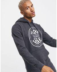 Vans Og Checker Hoodie - Black
