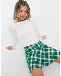 Monki My Mini Skirt - Green