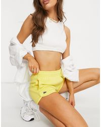 Lacoste Track Style Shorts - Yellow