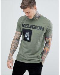 Religion T-shirt - Green