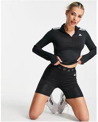 adidas Originals Черные Шорты С Фирменным Логотипом На Поясе Adidas Training-черный Цвет