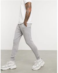 ASOS Organic Super Skinny sweatpants - Gray