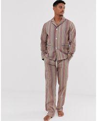 Paul Smith Классическая Пижама В Разноцветную Полоску -мульти - Многоцветный