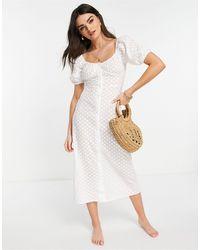 Fashion Union Robe - Blanc