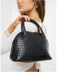 Claudia Canova Mini Bugatti Grab Bag - Black