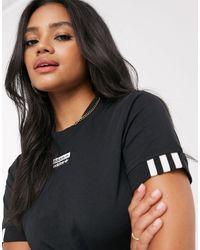 adidas Originals Cropped T-shirt - Black