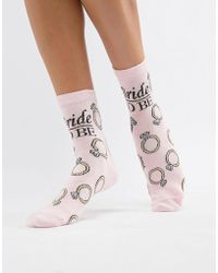 ASOS - Design Bride Tribe Socks - Lyst