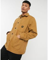 Stan Ray Коричневая Куртка В Рабочем Стиле -коричневый