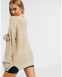 Missguided Jersey con ribetes - Rosa