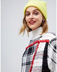 ASOS - Fluffy Brushed Fisherman Beanie - Lyst