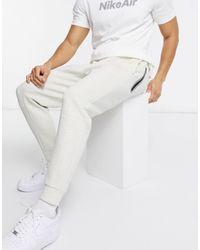 Nike Белые Джоггеры Из Технологичного Флиса Revival-белый