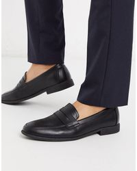 New Look Pu Penny Loafer - Black