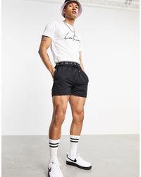 The Couture Club X Ellesse Naranjo Logo Shorts - Black