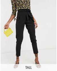 New Look Черные Брюки -черный - Многоцветный