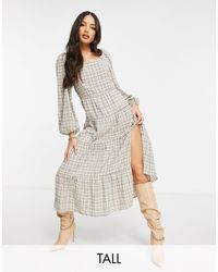 Missguided Maxi Dress - Brown