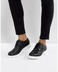 H by Hudson - H By Hudson Leather Chunky Sole Shoe - Lyst