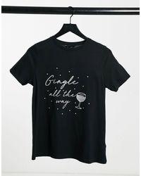 New Look T-shirt - Noir