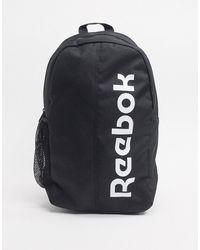 Reebok Training - Rugzak Met Groot Logo - Zwart