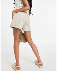 New Look Utility Paperbag Shorts - Multicolour