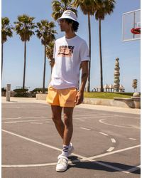 adidas Originals 'summer Club' Oversized T-shirt With Campervan Graphic - White