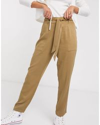 Oasis Utility Trousers - Brown
