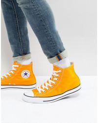 Converse - Chuck Taylor® All Star® Seasonal Colour Hi - Lyst