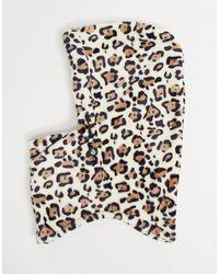 Volcom Advent Leopard Print Hood - Multicolour