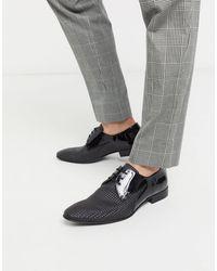Bolongaro Trevor Two-tone Leather Shoes - Black