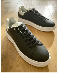 River Island Trainers In Black