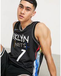 Nike Basketball Nba Brooklyn Nets Swingman Jersey - Black