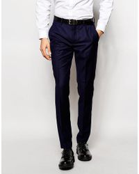 Vito - Super Skinny Suit Trousers - Lyst
