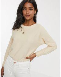 UNIQUE21 Button Shoulder Bodysuit - Natural