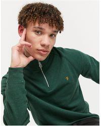 Farah – Jim – Sweatshirt - Grün