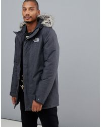The North Face - Zaneck Jacket In Grey - Lyst