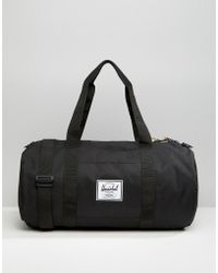Herschel Supply Co. 22l Sutton Mid Barrel Bag - Black