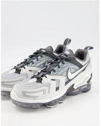 Nike - Серо-белые Кроссовки Air Vapormax Evo-серый - Lyst