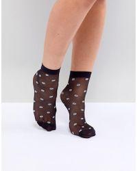 Jonathan Aston - Daisy Ankle Sock - Lyst