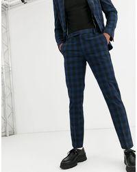 ASOS Skinny Suit Trousers - Blue